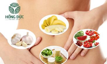 Thực phẩm ngừa viêm phụ khoa