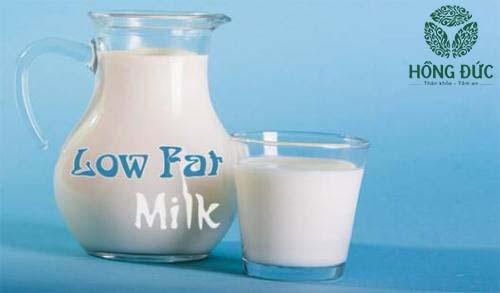 Sữa ít béo phục hồi viêm nhiễm cổ tử cung
